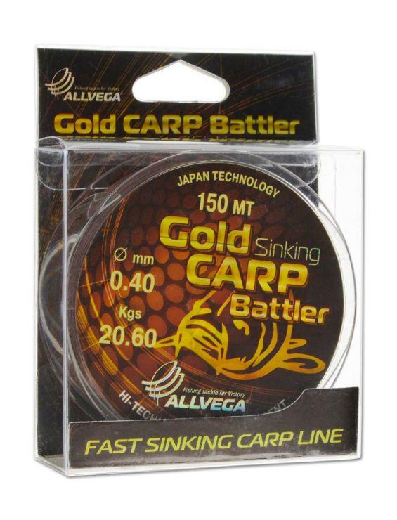 Allvega Gold Karp 150 м коричневая