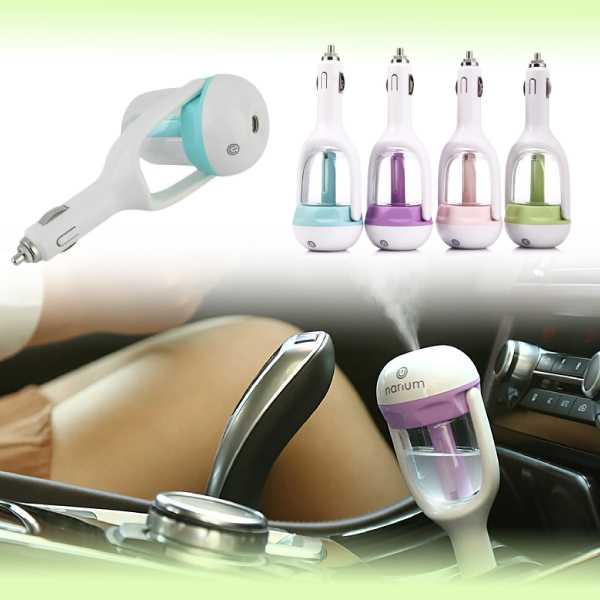 Освежитель-увлажнитель-ароматизатор воздуха  USB в прикуриватель автомобиля Car Humidifier