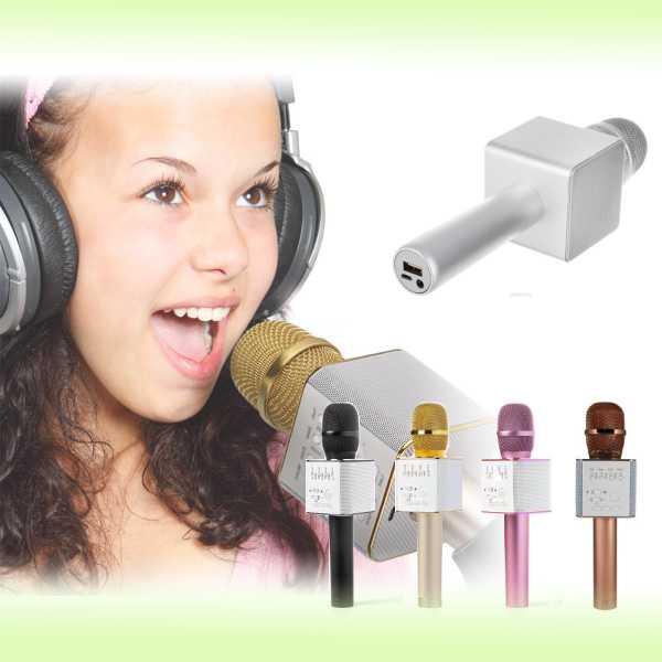 Беспроводной  Bluetooth микрофон для караоке Micgeek Q9