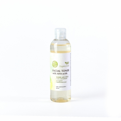 Тоник с АНА-кислотами для жирной и проблемной кожи