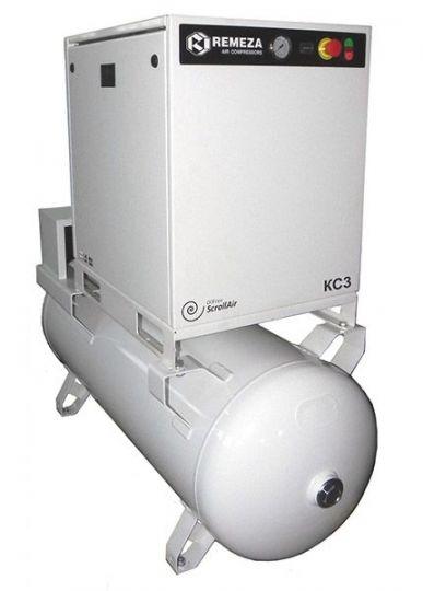 Спиральный безмасляный компрессор КС3-8(10)-270А