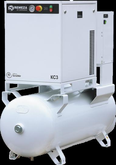 Спиральный безмасляный компрессор  КС3-8(10)-270АД