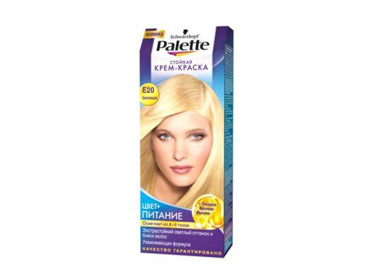 Краска д/волос PALETTE №E20 осветляющий