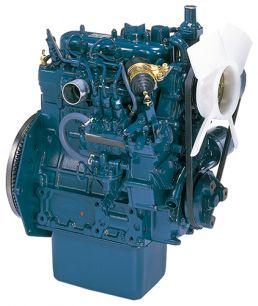 Двигатель дизельный Kubota D722