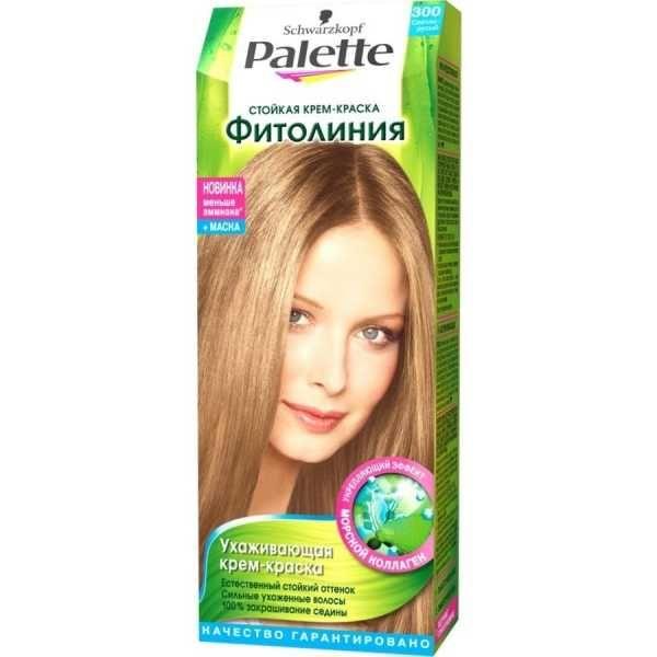 Краска д/волос PALETTE Фитолиния №300 Светло-русый