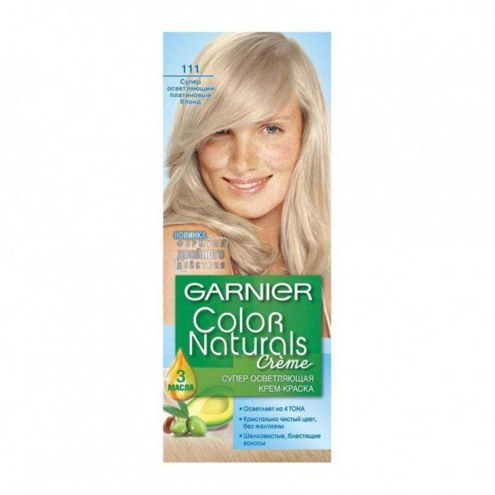 Краска д/волос Garnier Color naturals 1.11 Платиновый блондин