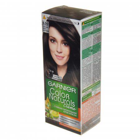 Краска д/волос Garnier Color naturals 4.00 Гл. т- каш.