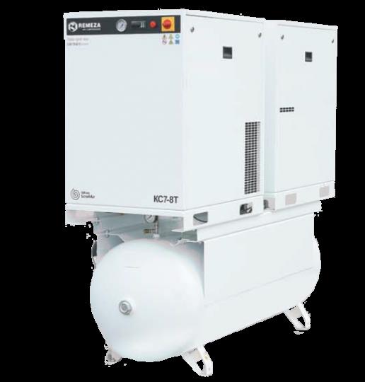 Спиральный безмасляный компрессор КС5-8(10)-500Т