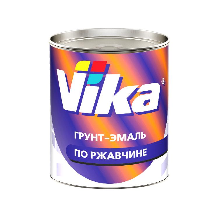 Vika (Вика) Грунт-эмаль RAL9005 черный янтарь, 900мл.