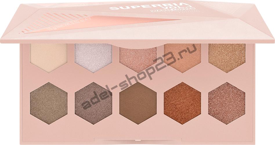 Палетка теней для век Superbia Vol. 1 Warm Copper Eyeshadow Edition