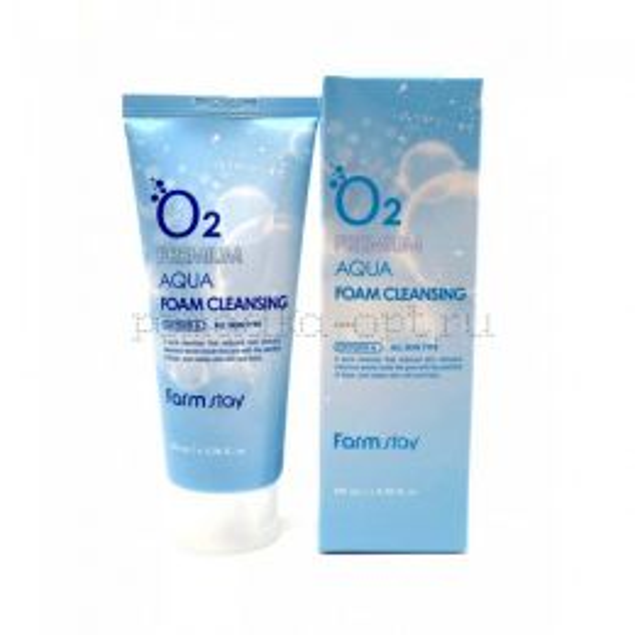 Пенка для лица Premium Aqua/Moisture Foam Cleansing (Farm Stay)