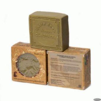 Алеппское  Оливковое мыло с амброй и мускусом.150 гр