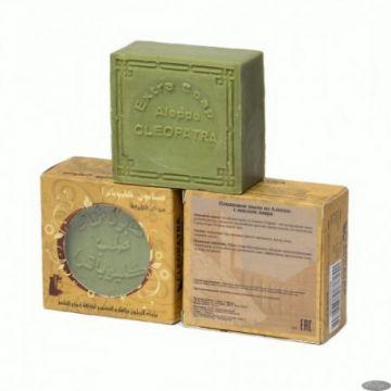 Алеппское  Оливковое мыло с лавром.150 гр