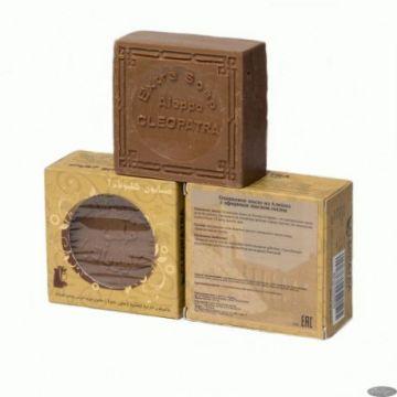 Мыло алеппское оливковое МАСЛО СОСНЫ в картонной коробке, 1 шт./~150 гр