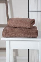 Полотенце махровое APOLLO (т.коричневое) 50*90 Арт.3201-8