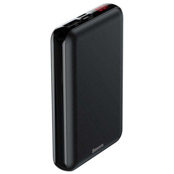 Быстрое Зарядное Устройство Baseus Mini S Digital Display Powerbank 10000mAh PD Edition Черный