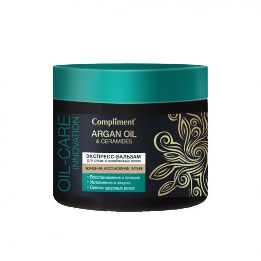 Маска д/волос Compliment Argan oil & ceramides 300мл питат.д/сухих и ослабленных волос