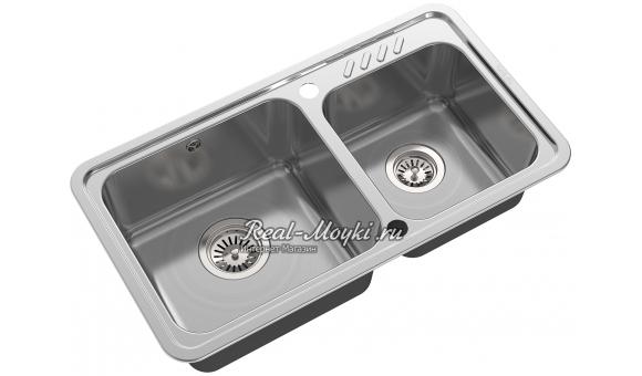 Врезная кухонная мойка Oulin OL-H9903