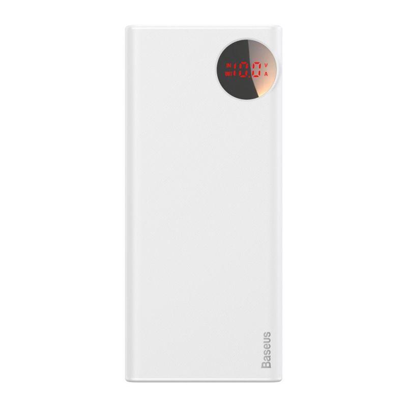 Внешний Аккумулятор Bright moon PD3.0 fast charge mobile power 20000mAh Белый