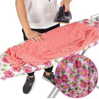Чехол для гладильной доски, 140х50 см, Узор: Мелкие цветы-1
