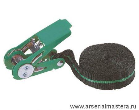 Крепежный ремень с храповым механизмом (4м, 180кг) без крючка WOLFCRAFT 3418000