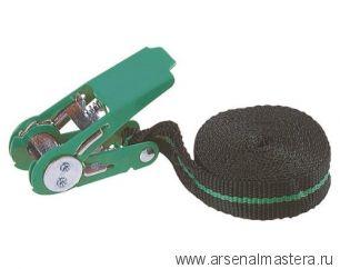 Крепежный ремень с храповым механизмом (4м, 180кг) WOLFCRAFT 3418000