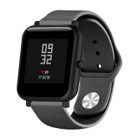 Сменный ремешок для Умных часов  Amazfit Bip Smartwatch (Черный)