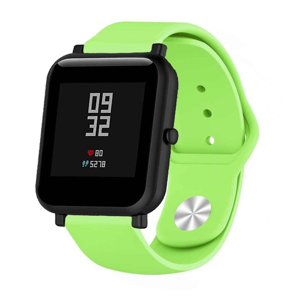 Сменный ремешок для Умных часов  Amazfit Bip Smartwatch (Зеленый)