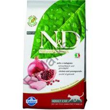 N&D Cat Chicken & Pomegranate Adult-КУРИЦА С ГРАНАТОМ ДЛЯ ВЗРОСЛЫХ КОТОВ И КОШЕК