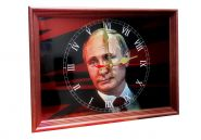 """Настенные часы """"В.В. ПУТИН"""", вариант 1"""