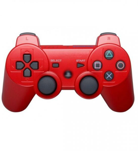 Геймпад для Playstation 3 dualshock ( джойстик PS3 ) красный