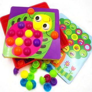Развивающая мозаика-пуговки Button Idea