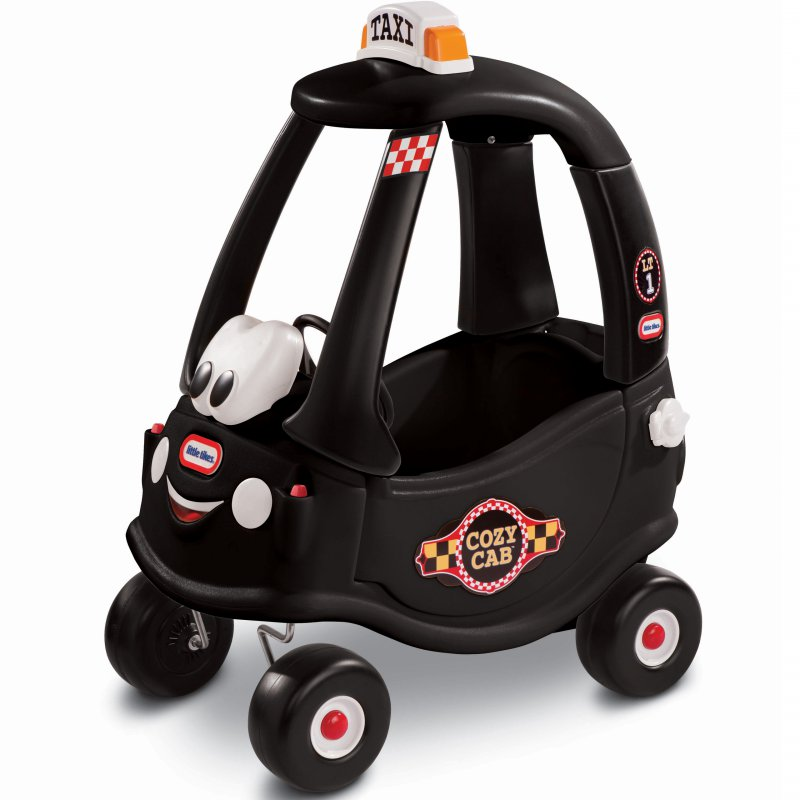 Машина-каталка Little Tikes Cozy Coupe Black Taxi 172182