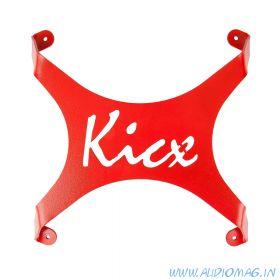 Kicx Объёмный Kicx (красный)