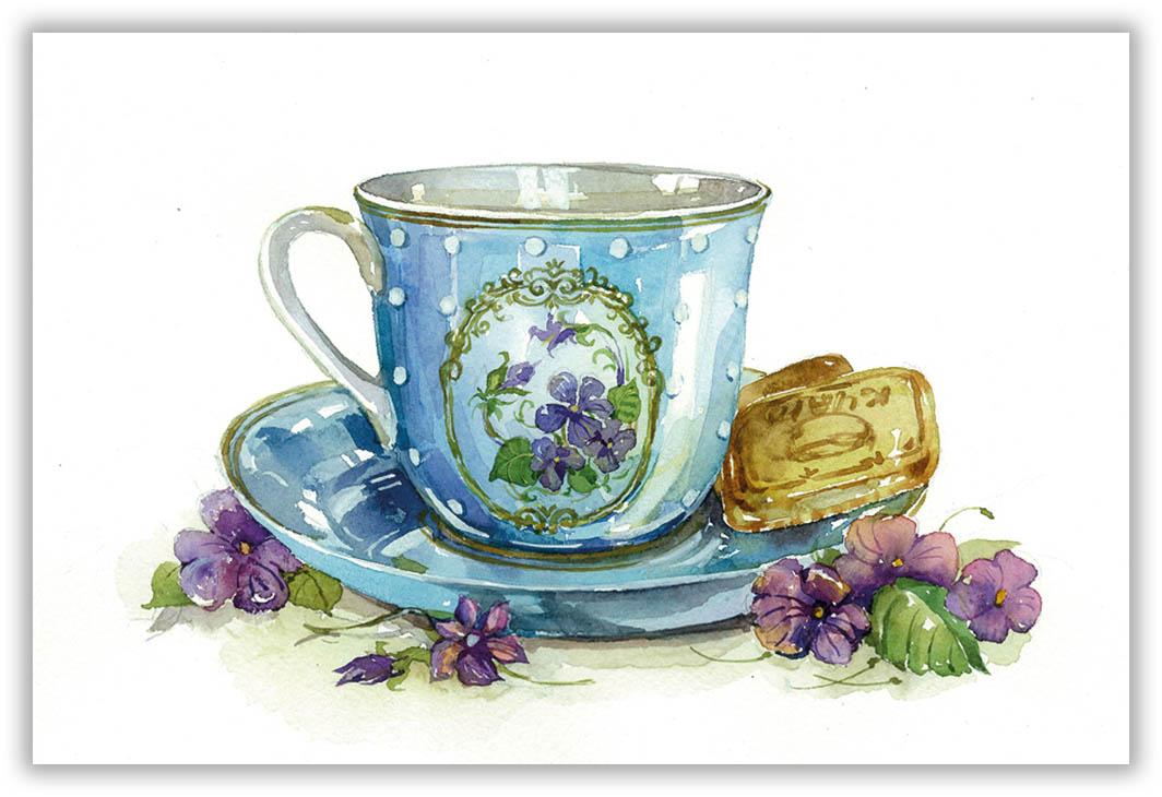 Картинки для декупажа чайные чашки твой