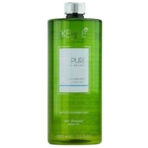 Keune So Pure Cooling Shampoo Шампунь освежающий, 1000 мл.