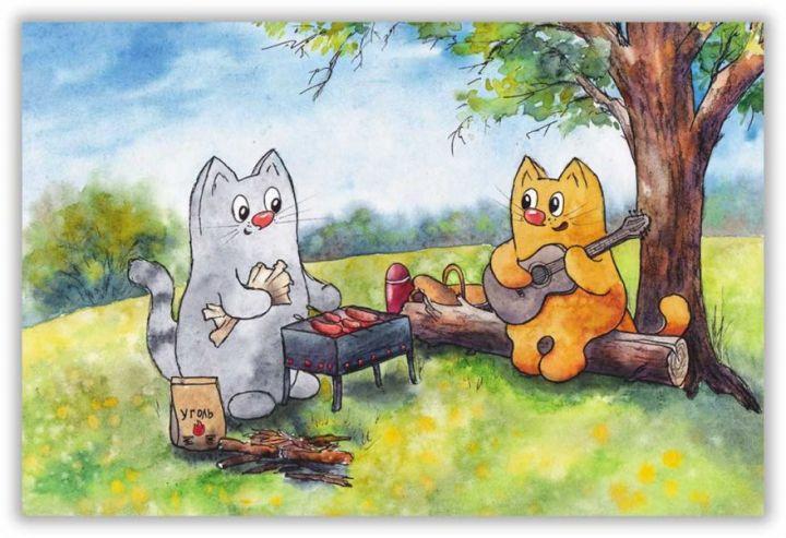 Пикник под деревом