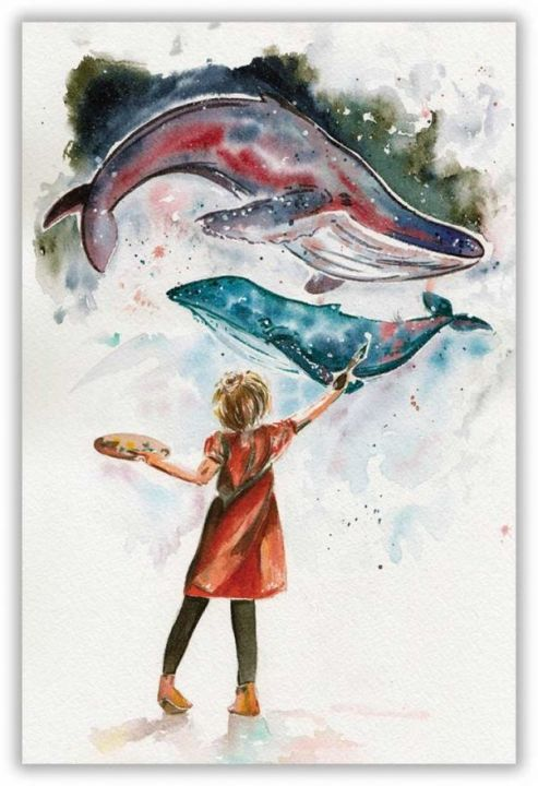Я рисую море