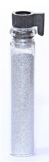 Блестки (посыпка для ногтей) цвет серебро