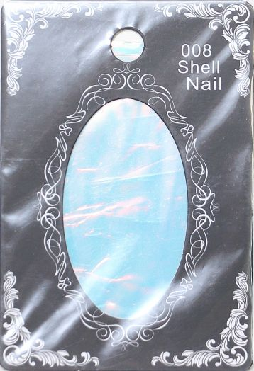 Фольга SHELL NAIL 008 2690 битое стекло