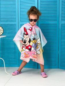 Детское пляжное полотенце-пончо с капюшоном арт. 537726