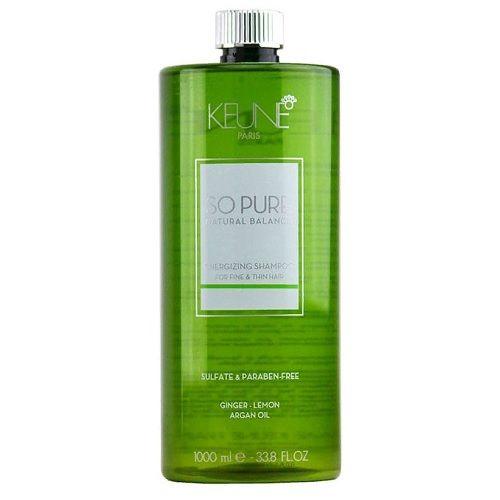 Keune So Pure Шампунь Тонизирующий Energizing Shampoo, 1000 мл.