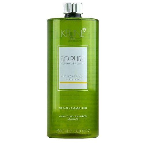 Keune So Pure Шампунь Увлажняющий Moisturizing Shampoo, 1000 мл.