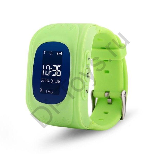 Детские часы smart baby watch q50 зеленые