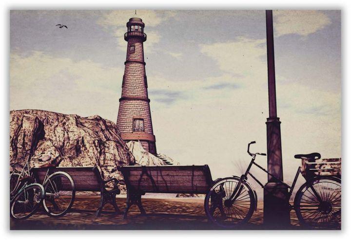 У маяка