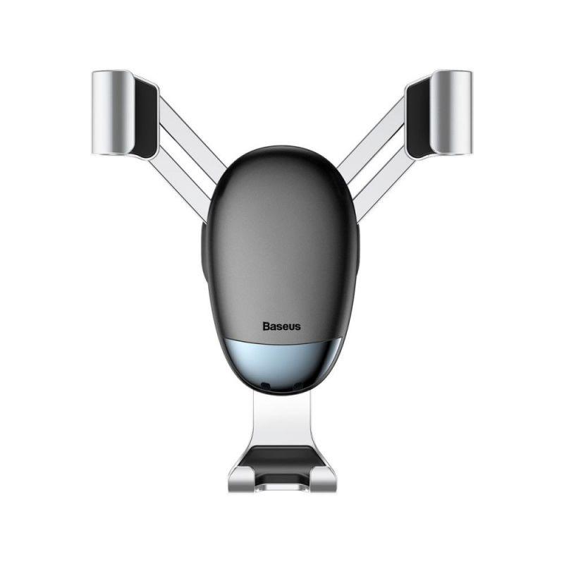 Автомобильный держатель Baseus Mini gravity holder Серебристый (SUYL-G0S)