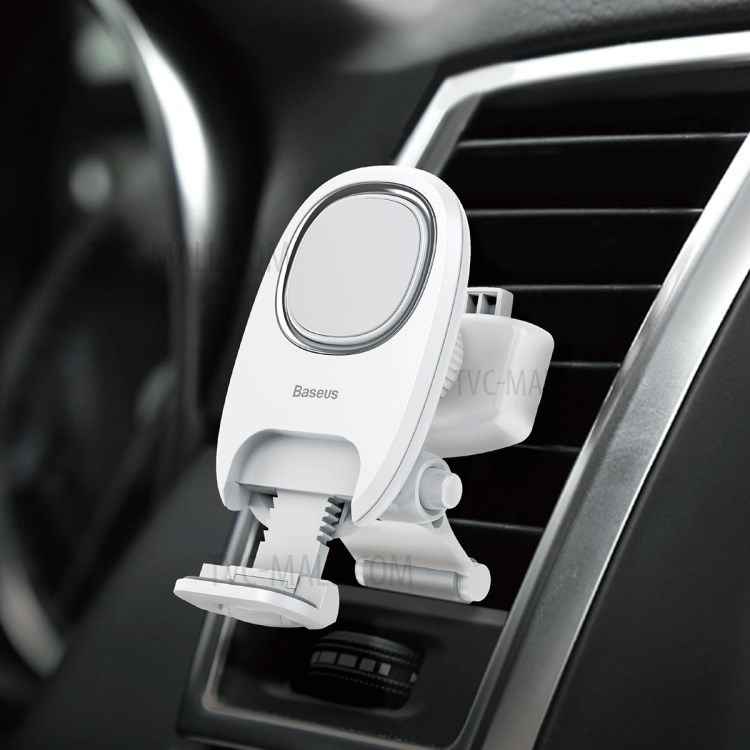 Держатель Baseus Xiaochun Magnetic Car Phone Holder белый (SUCH-02)