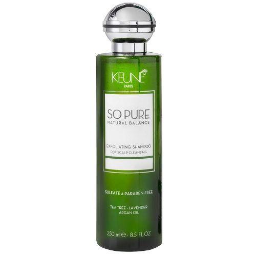 Keune So Pure Шампунь обновляющий Exfoliating Shampoo, 250 мл.