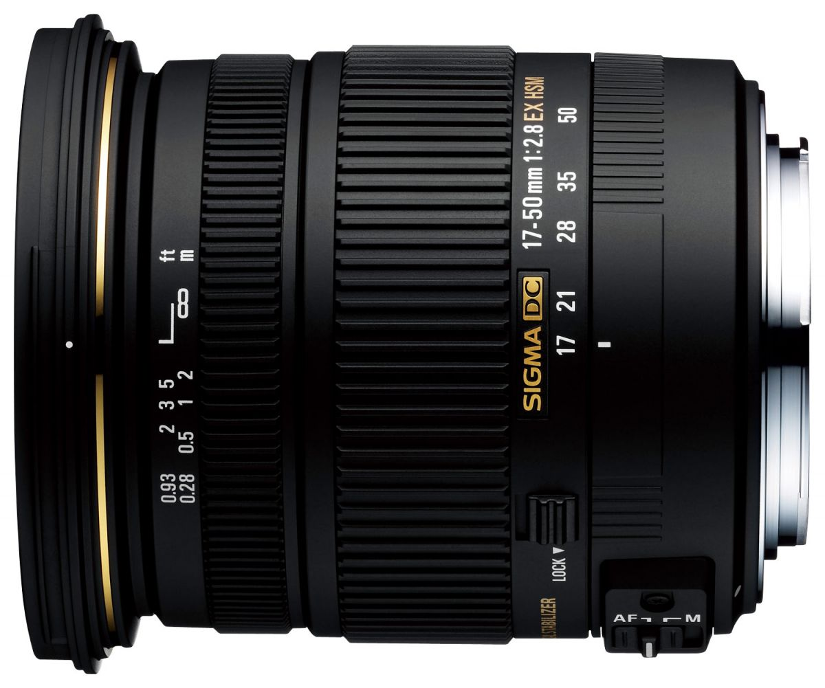 Sigma AF 17-50mm f/2.8 EX DC OS HSM Canon EF-S ( JAPAN)