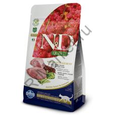 N&D Cat Quinoa Weight Management Lamb -ЯГНЕНОК И КИНОА ДЛЯ КОНТРОЛЯ ВЕСА КОТОВ И КОШЕК